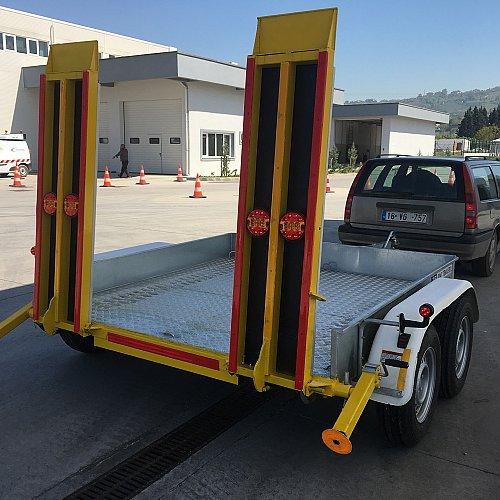 Makina Taşıma Römorku